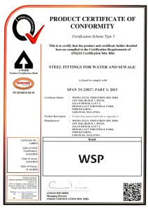 ANQAS SPAN TS21827 Part 1 2013 Steel Fittings for Water and Sewage-1