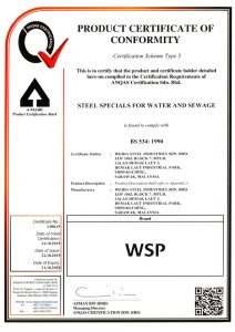 ANQAS Steel Specials for Water and Sewage BS534 1990-1